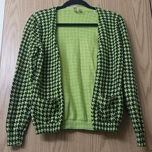 Forever21 exclusive florescent cardigan